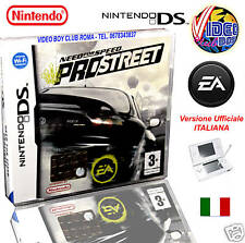 NEED FOR SPEED PRO STREET ITALIANO NINTENDO DS NDS DSL