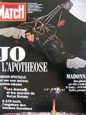 PARIS MATCH N° 2232 JEUX OLYMPIQUES ALBERTVILLE MADONNA NUE DUTRONC PAILHAS 1993
