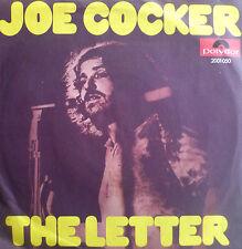 "7"" 1970 CV BOX TOPS RARE VG +! Joe Cocker: the letter"