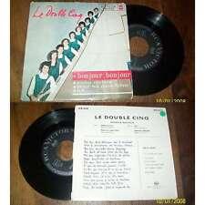 LES DOUBLE CINQ - Bonjour Bonjour German EP Sixties Pop RCA