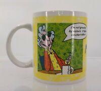 Hallmark Maxine Coffee Mug Cup Grouchy Crabby Grumpy Old Lady DW Safe Microwave