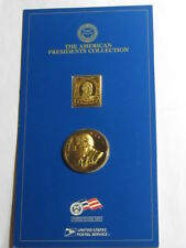 WILLIAM MCKINLEY PRESIDENT COLLECTION 999 SILVER GOLD BAR BRONZE COIN SEALED #B