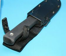 "Cold Steel Master Hunter Knife 4 ½"" VG1 San Mai III Steel Blade Kray-Ex Handle"