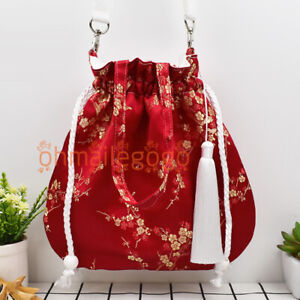 Women's Bag Ancient Costume Handbags Hanfu Bag Flower Chinese Bag Purse Vintage
