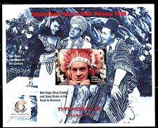 SELLOS TEMA CINE. TURKMENISTAN 1999 BOB HOPE,BING CROSBY AND DONA DRAKE