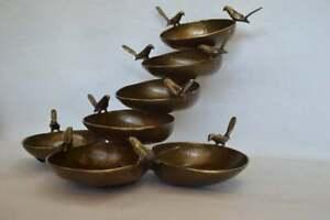 New Designer Brass Bird Bowl Table Sculpture For Home Decoration