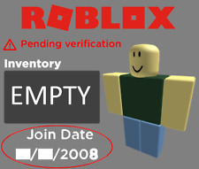 RARE ROBLOX 2008 ACCOUNT