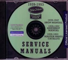 1939 1953 Ferguson Tractor Mechanic Workshop Service Repair Manual Cd Factory