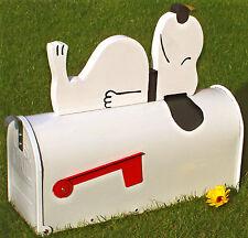 """Snoopy""  Edelstahl US-Mailbox"