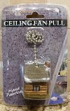 Cabin Ceiling Fan Pull Chain Cabin Hunting Rustic Lodge Décor
