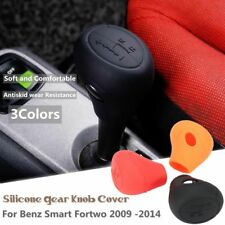 Soft Silicone Car Shift Knob Gear Cover Protector For Benz Smart Fortwo 09 -14