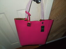 NWT Ralph Lauren bright rose synthetic Acadia tote