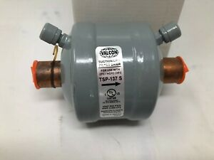 Valcon TSP-137 S Suction Line Filter Drier for use with CFC HCFC HFC Emerson