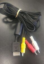 Sony Offiicial OEM Audio Video AV Composite Cable |Tested| PS 1 2 3 |SHIPS FREE