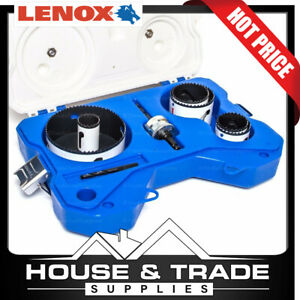 Lenox Hole Saw Kit  8 Piece Plumbers Speed Slot 30876AU600P