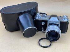 ConSol Pentacon 1955 SLR 35mm film camera w/ 58mm f/2 Biotar-Zeiss Contax D-Rare