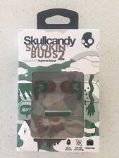 Skullcandy Smokin Buds 2 Headphone in ear camo color Brand NEW