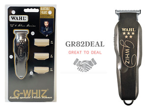 Wahl Professional 8986 5-Star G-Whiz High Precision Cordless Hair Trimmer NEW
