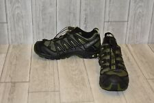 Salomon XA Pro 3 Running Shoes-Men's 7 Chive/Black