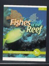 AUSTRALIA Coral Rabbitfish MNH Booklet