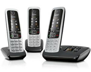 Gigaset C430 A Trio Set con 3 ricevitori Telefono senza fili Cordless