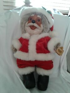 RAIKES BEARS Santabear - Santa Claus bear in great condition. limited edition