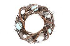 Gisela Graham Easter Egg Decorative Wreath For The Home Easter Door Wreath