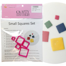 Small Square Cutter Set - 5pc - Cake Decorating Sugarcraft