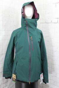 686 GLCR Hydra Insulated Snow Jacket, Women's Large, Dark Spruce Green New