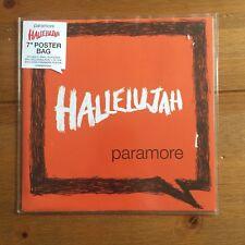 "PARAMORE - Hallelujah Etched  7"" vinyl in poster sleeve"