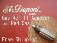 NEU GAS Befüll Adapter passend für S.T. Dupont Feuerzeug