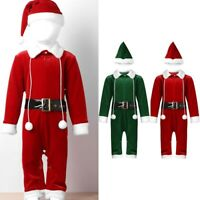 MEMORYLAB NEW SUPER CUTE CHRISTMAS ROMPER OUTFIT FOR BABY BOYS GIRLS KIDS WITH CAP 6-12 months