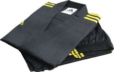Adidas Champion 3-stripe Open Dobok/Martial Uniform/TaeKwonDo/Karatedo/Gis/Black