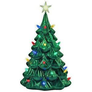 Holiday Living 41 inch Blow Mold lighted Tree Christmas Tree LED Decoration
