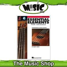 New Essential Elements for Ukulele Book 2 Music Tuition Book with OLA