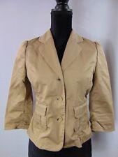 Banana Republic Women's Size 4 - 3 Button Light Brown Blazer Jacket
