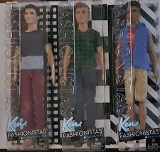 Fashionistas Barbie Ken Dolls