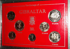 Gibraltar (The Rock) 300th Anniversary of British Rule Coin Gift Set 1704-2004