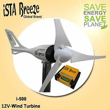 SET i-500 PLUS,12v WINDGENERATOR + HYBRID LADEREGLER iSTA-BREEZE® , WIND TURBINE