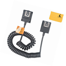 Godox TTL Off Camera Hot Shoe Flash Sync Cable Cord For Canon Speedlite As OC-E3