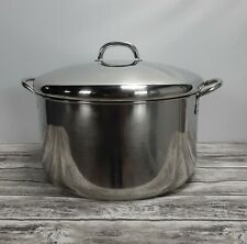 Farberware12 QT. Stockpot  with cover made in  Bronx NY USA