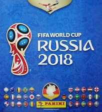 Panini WM 2018 50 Sticker aussuchen Glitzer WC 18 MC Donalds