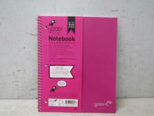 Yoobi 100 Sheets Spiral College Ruled 1 Subject Notebook Case of 36