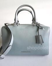 NEW Michael Kors Kirby Leather Medium Satchel 30T6SK3S2L DUSTY BLUE