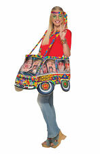 Hippie Van Step In Costume Fancy Dress Costume Outfit Male Mens Adult One Size