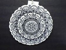 Ready to Paint Wood Mandala Wall Plaque Sign New Crafts