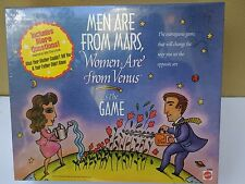 Men Are From Mars, Women Are From Venus The Game Mattel 1998 New in Box Sealed