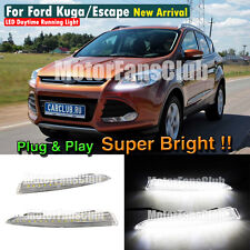 New LED Daytime Running Light For Ford Escape Kuga DRL 2013 2014 2015