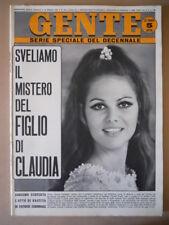 GENTE n°16 1967 Claudia Cardinale Speciale FIRENZE - Modella Twiggy  [G744]