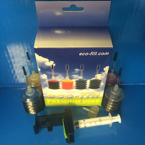 EcoFill Canon Pixma TS3350 TS3450 TS 3350 3450 Ink Cartridges Refill Kit 545 546